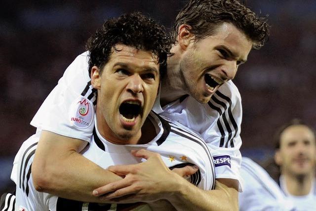 Deutschland siegt und steht im Viertelfinale