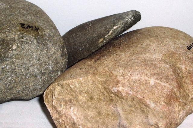 Steinzeitfunde auf Reisen