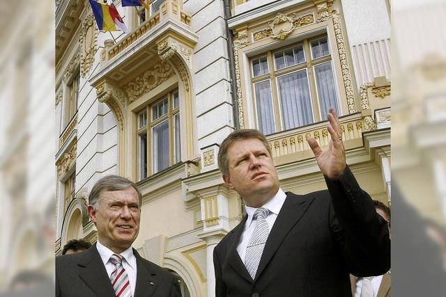Rumänen trauen den Deutschen viel zu