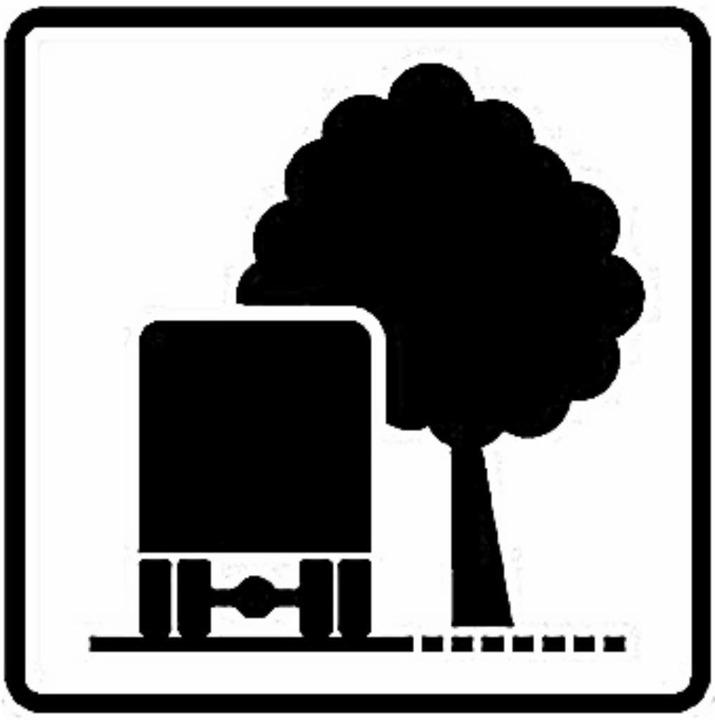 Unklar ist, ob dieses Schild den Baum ... <BZ-FotoNurRepro>BZ</BZ-FotoNurRepro>