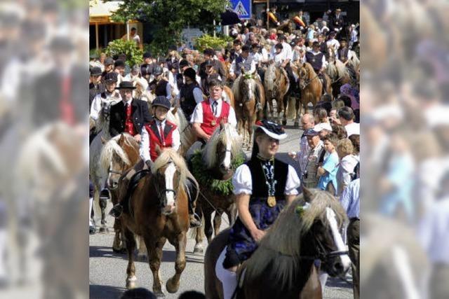 In Lenzkirch leben Tradition und Brauchtum