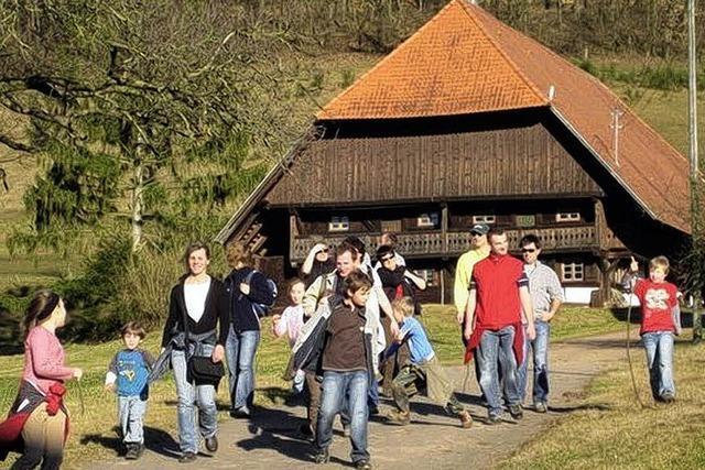 Familien lieben Wandern