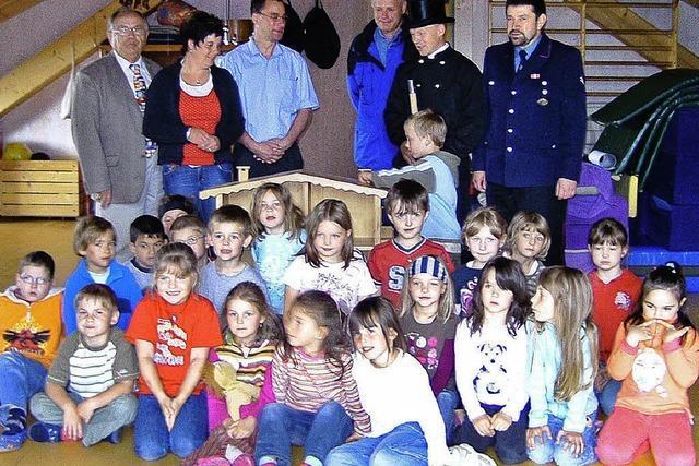 Mehr Sicherheit im Kindergarten