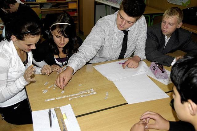Berufscasting im Klassenzimmer