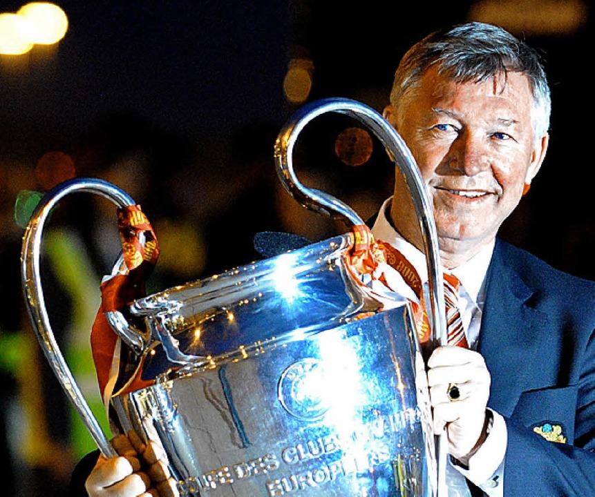 Wer  Alex Ferguson, den  Teammanager v...s bisher im frei empfangbaren TV tun.     Foto: afp