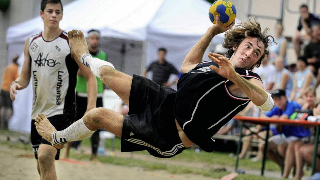Bester Spieler des Beach-Turniers: Felix Wacker von Sieger Al Sandys Herrenberg   | Foto: Meinrad Schön