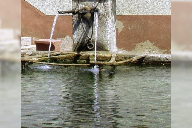 Italiener halfen Wasserleitung bauen