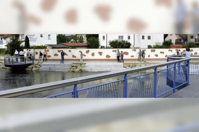 Brücke und Flaniermeile eingeweiht