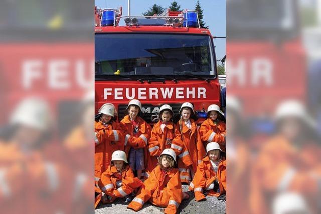 75 Jahre gibt es die Feuerwehr
