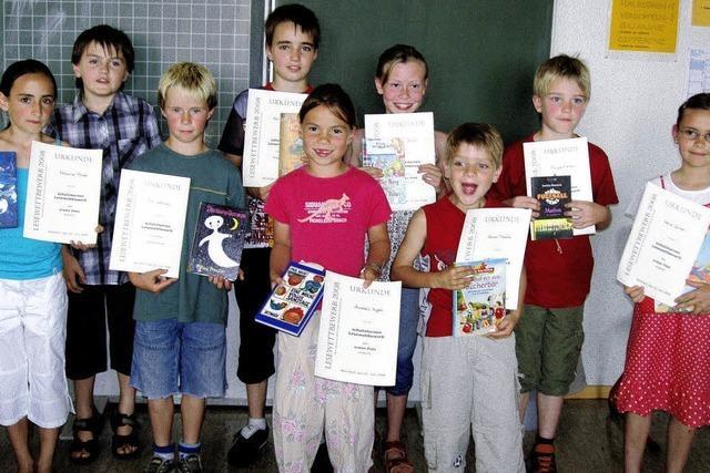 Grundschule ermittelt die besten Vorleser