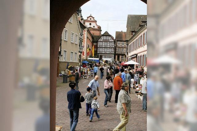 Innenstadt wird zum Flohmarkt