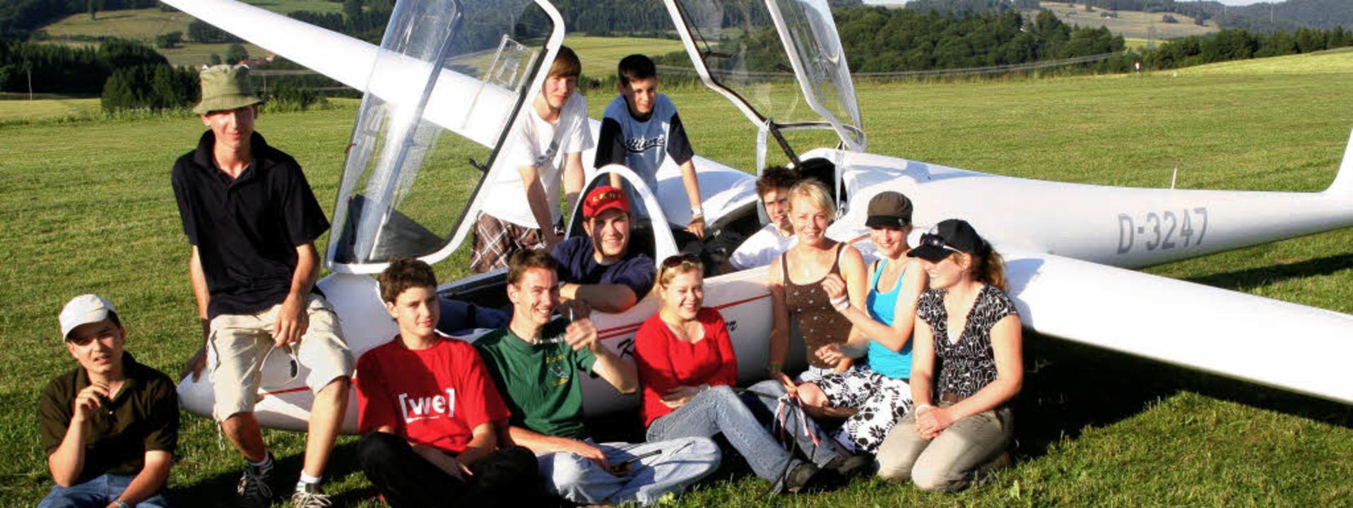 Die Luftsportgemeinschaft bekommt Zulauf von  jungen Flugbegeisterten.   | Foto: Heiner Fabry