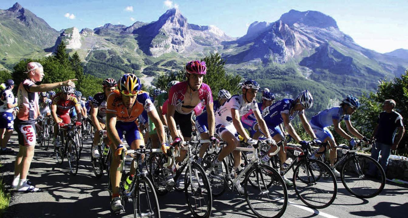Allez, allez: Bei der Tour de France g... um die Glaubwürdigkeit des Radsports.  | Foto: roth