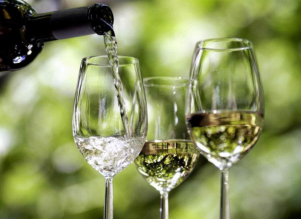 Beim Hoffest in Wettelbrunn dreht sich  alles um den Wein.   | Foto: DPA