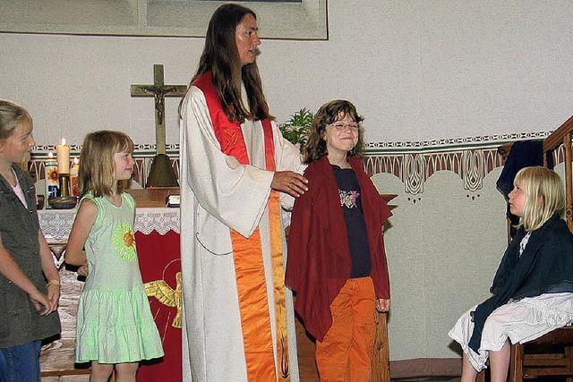 Ein Gemeindefest rund um die Taufe