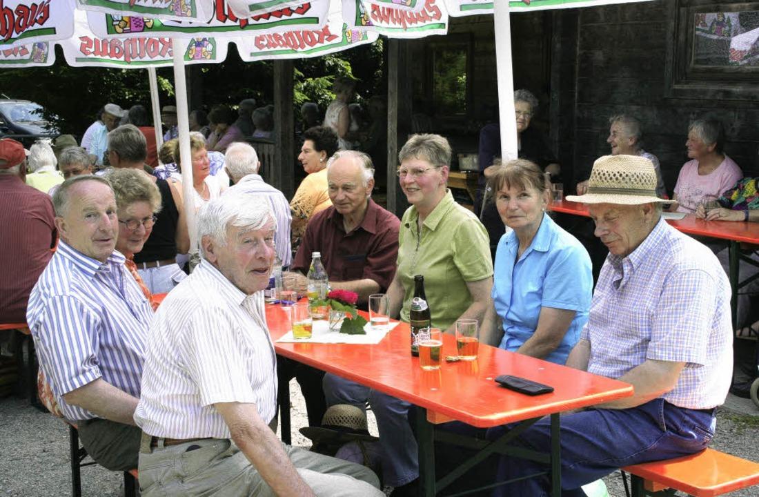 Gut besucht war das Grillfest der Senioren am Jugendzeltplatz.   | Foto: cs