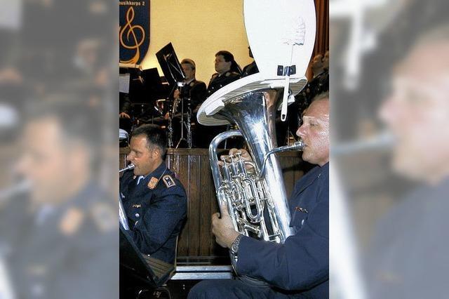 Benefizkonzert des Luftwaffenmusikkorps