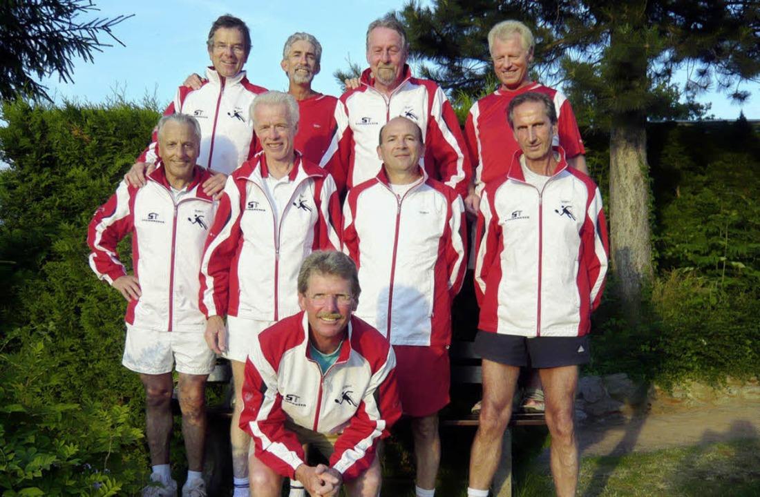 Die Sieger, hinten von links:   Lutz W...Ganther und vorne Horst Fäskorn <?ZE?>  | Foto: privat