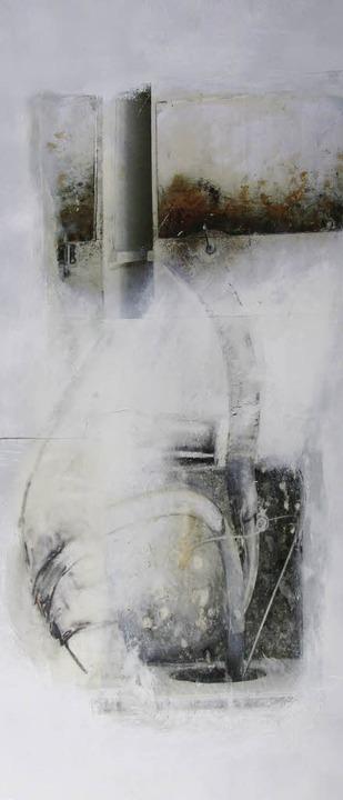 """""""Lunge"""":  ein 2007 entstandenes Bild  von Walraud Brügel       Foto: privat"""
