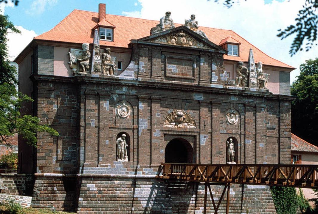 1678 wurde das  Rheintor im Auftrag de...rbergt es das Breisacher Stadtmuseum.     Foto: privat