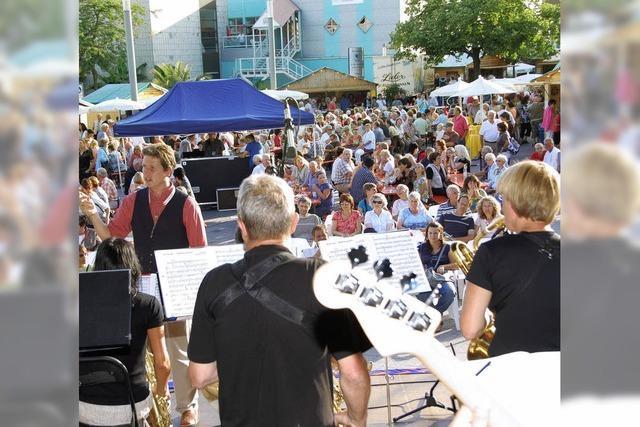 Viel Fest-, aber auch Konzertatmosphäre