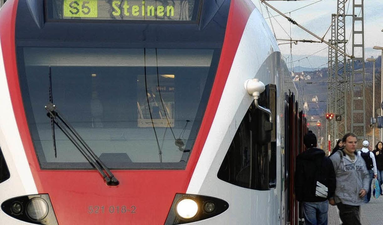 S-Bahn der Linie 5   | Foto: Lauber