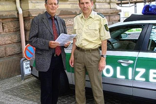 Sorge um Personalausstattung der Polizei