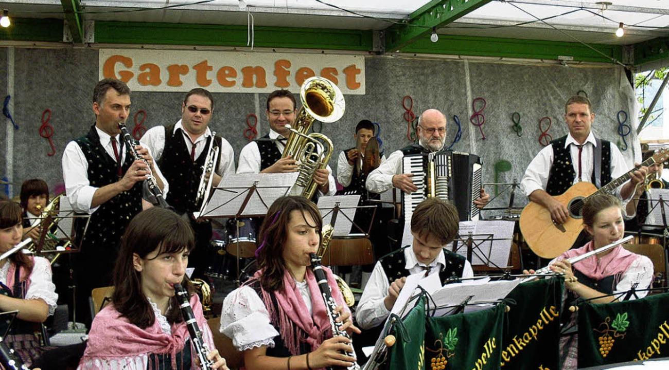 <Bildtext>Beim Gartenfest Siensbach wa...achtenkapelle Obersasbach</Bildtext>.   | Foto: Silke Nitz