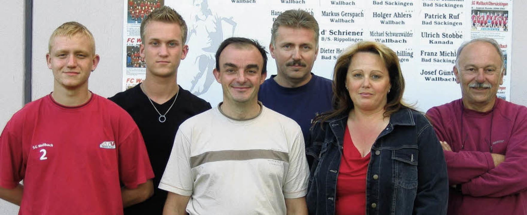 Neu gewählt oder in ihren Ämtern bestä...nemann und Heinz Schlögl (von links).   | Foto: Michael Gottstein