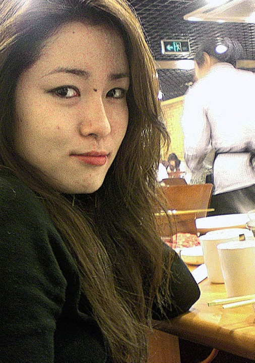 Studentin Zhai Qianqian