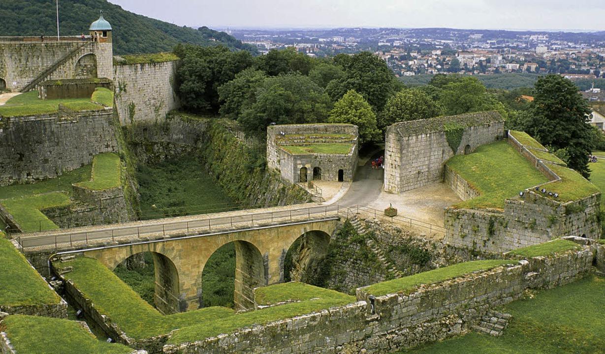 Auch die Zitadellen von  Besançon gehören nun zum Welterbe     Foto: akg