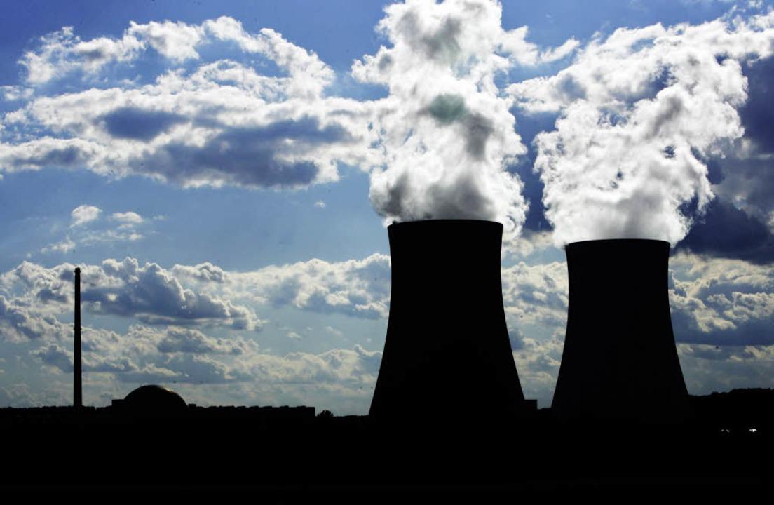 Das Atomkraftwerk Philippsburg in der Nähe von Karlsruhe     Foto: KEYSTONE