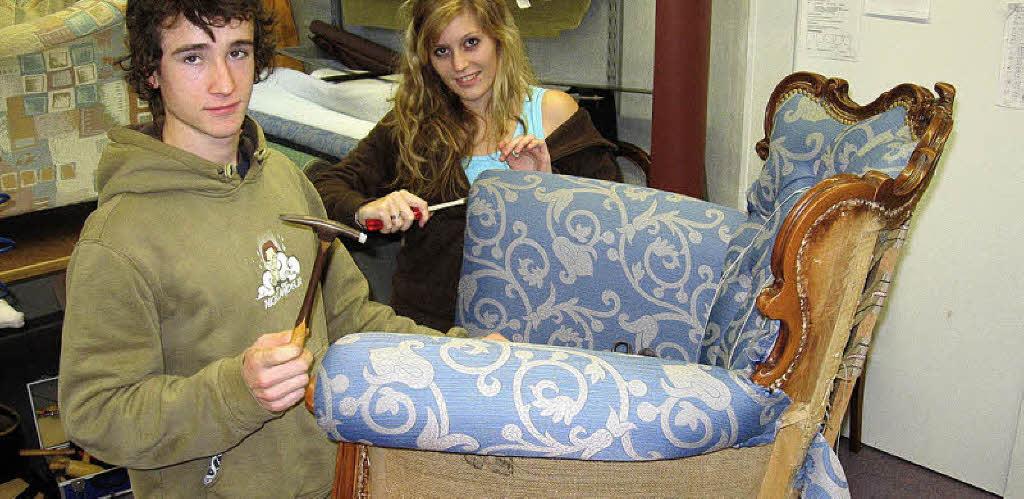 stoffe machen m bel badische zeitung. Black Bedroom Furniture Sets. Home Design Ideas
