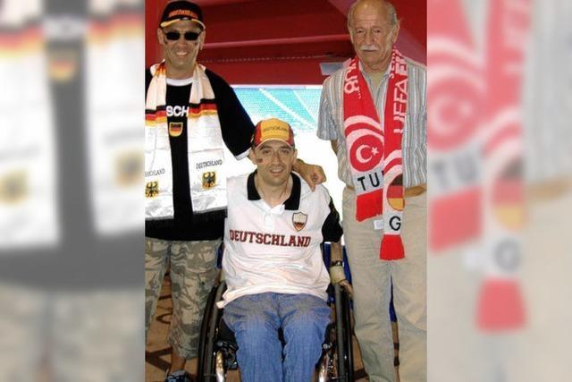 Die EM live im Rollstuhl miterlebt