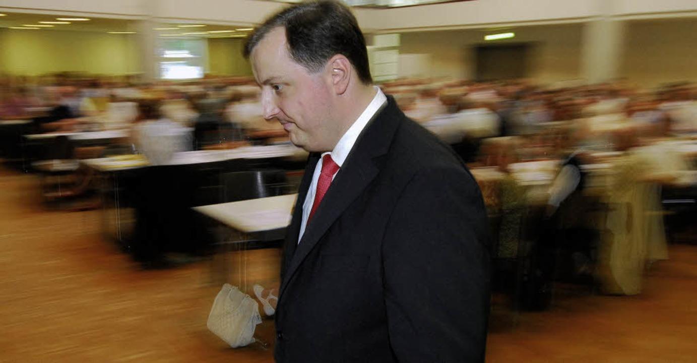 Auf dem Weg nach Berlin? CDU-Bundestagskandidat Daniel Sander
