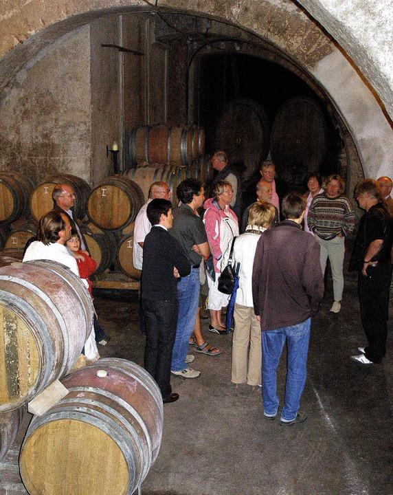 <Bildtext>Das Wein- und Sektfestival r...n Schlossgutweinen lagern</Bildtext>.   | Foto: Barbara Schmidt