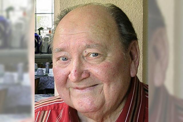 Alfred Mick wurde 80 Jahre