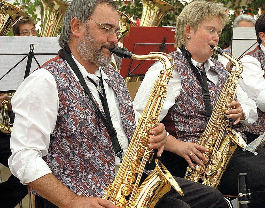 Guter Ton: Der Musikverein Rohmatt spielte beim Bezirksmusikfest.   | Foto: Karin Maier