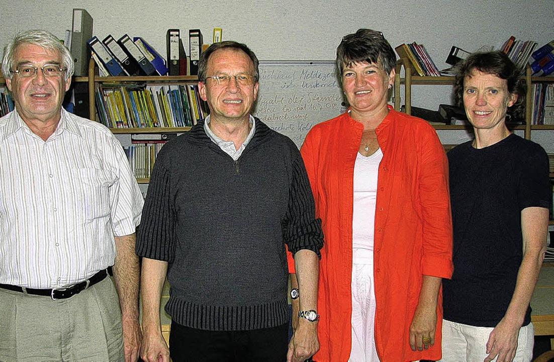 Die Vorstandsmitglieder des Freundeskr...berger, Margot Ranz und Carmen Düreth     Foto: Susanne Kanele