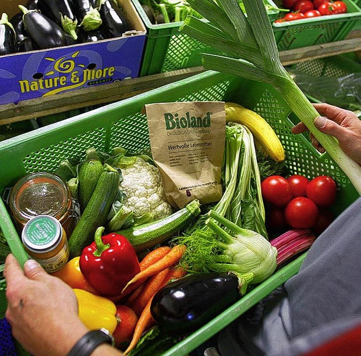 Gesünder mit Bioprodukten:  ein Glaube?    | Foto: ddp