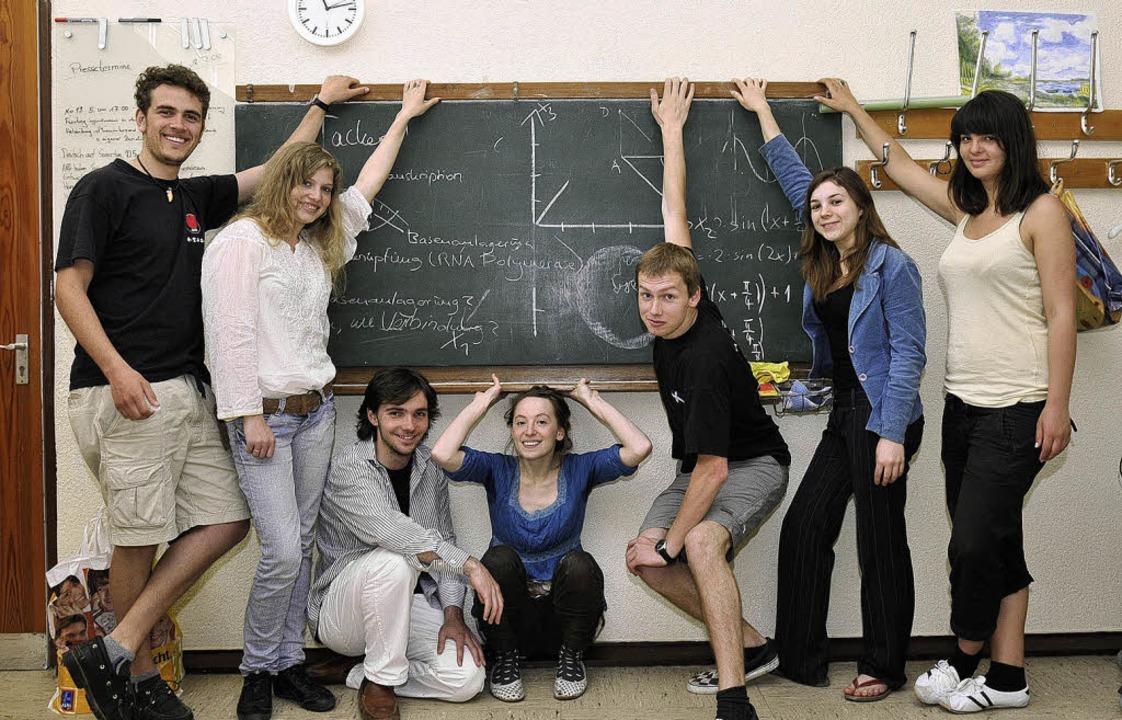 Das hat geklappt: Abitur selbst vorber... Prüfungen geschafft, Abiball gefeiert  | Foto: ingo Schneider