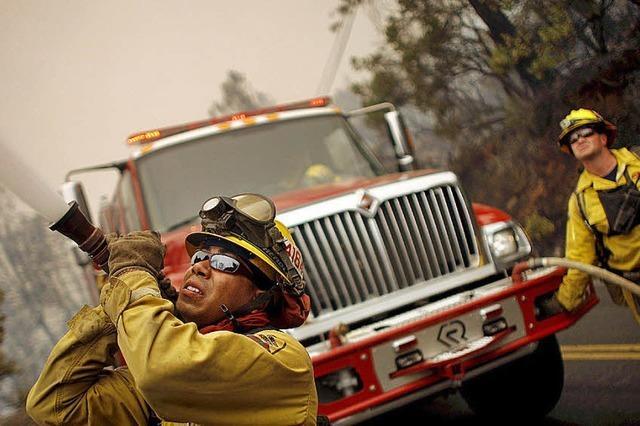 Riesige Fläche in Kalifornien abgebrannt