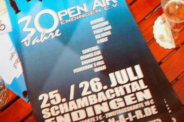 Endinger Open Air feiert Jubiläum