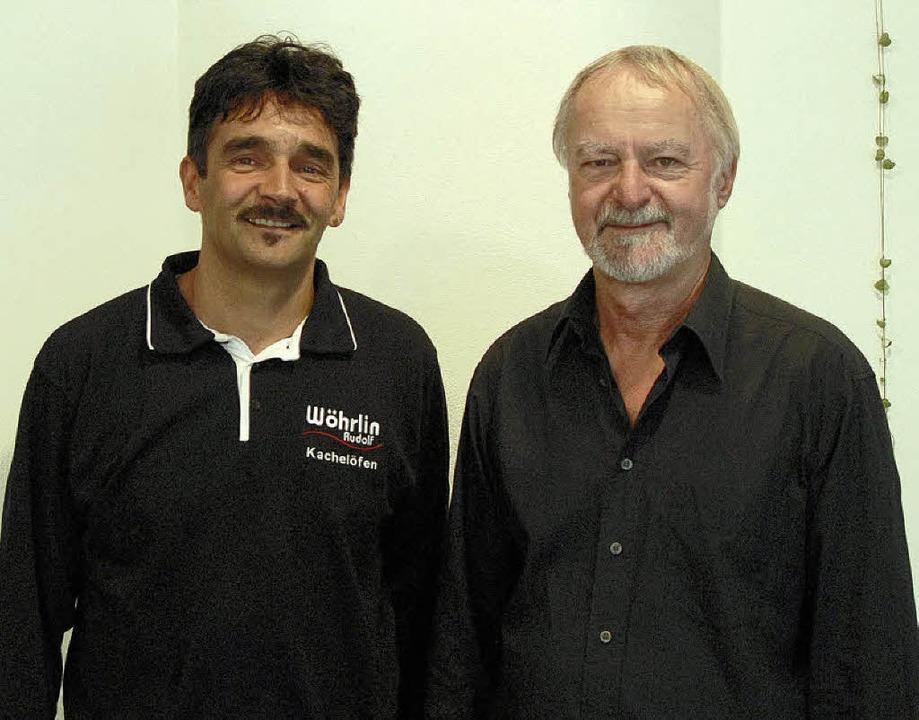 <Bildtext>Michael Maul (rechts) und Ru...er und mancher Gastfirmen. </Bildtext>  | Foto: Zimmermann-Dürkop