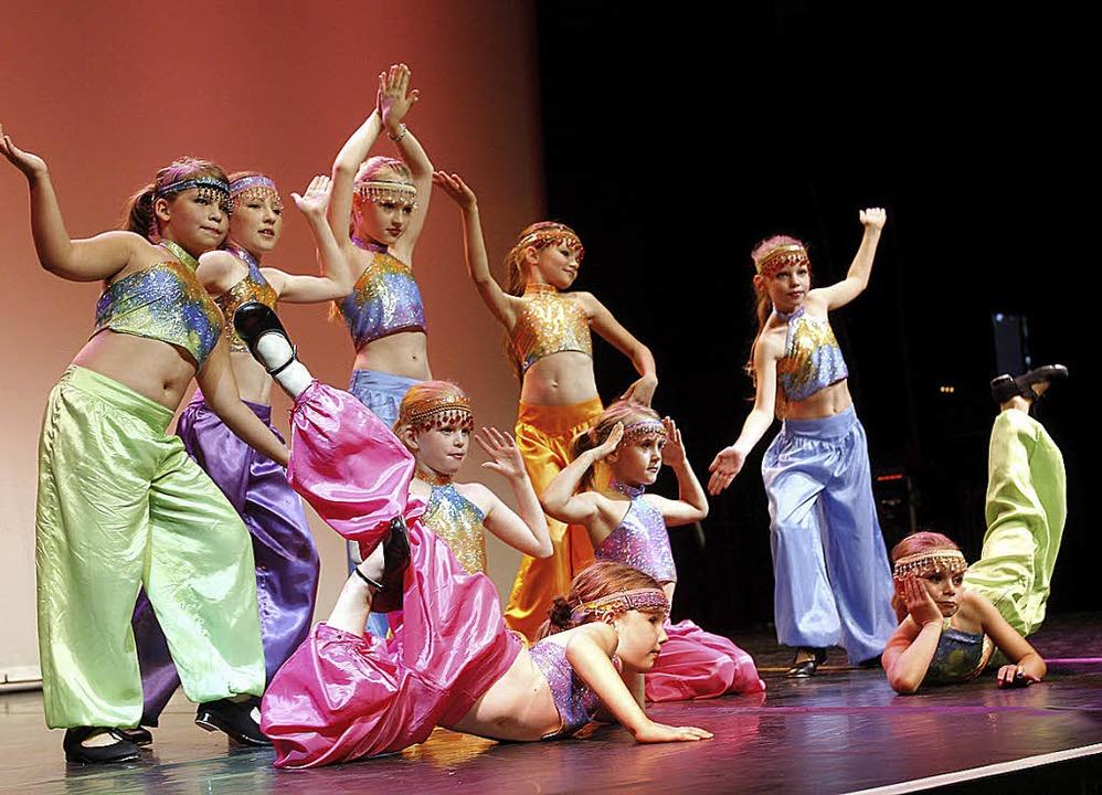 Stimmungsvoll:  Ballett-Nachwuchs in der Reithalle.   | Foto: Peter Heck