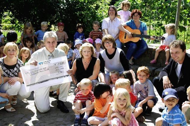 Spenden für Instrumente