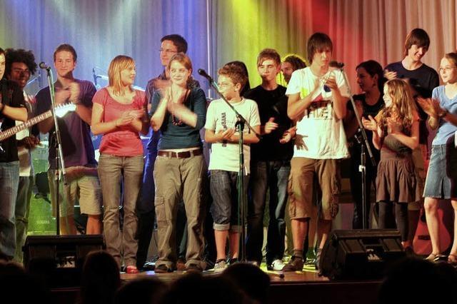 Applaus für Jungmusiker