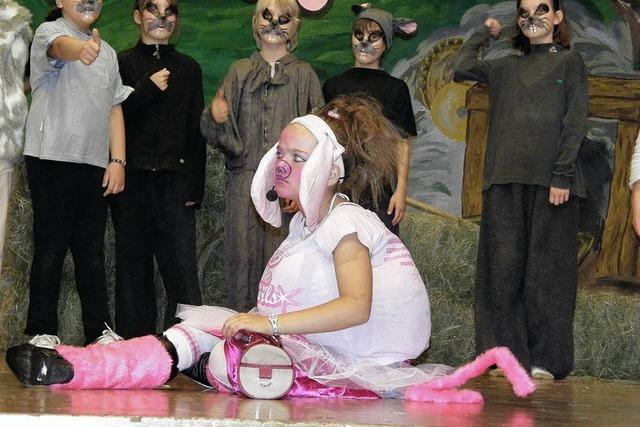 Viel Beifall für Piggy