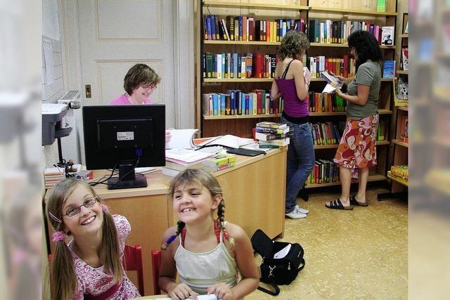 Bücherei weitet ihr Angebot aus
