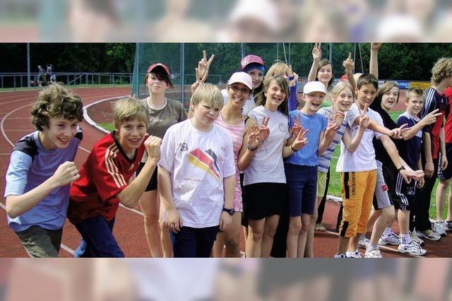 Laufen für Straßenkinder